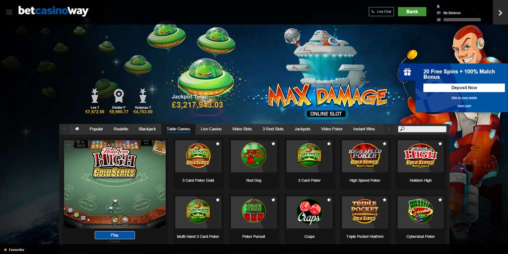 betway casino download mac