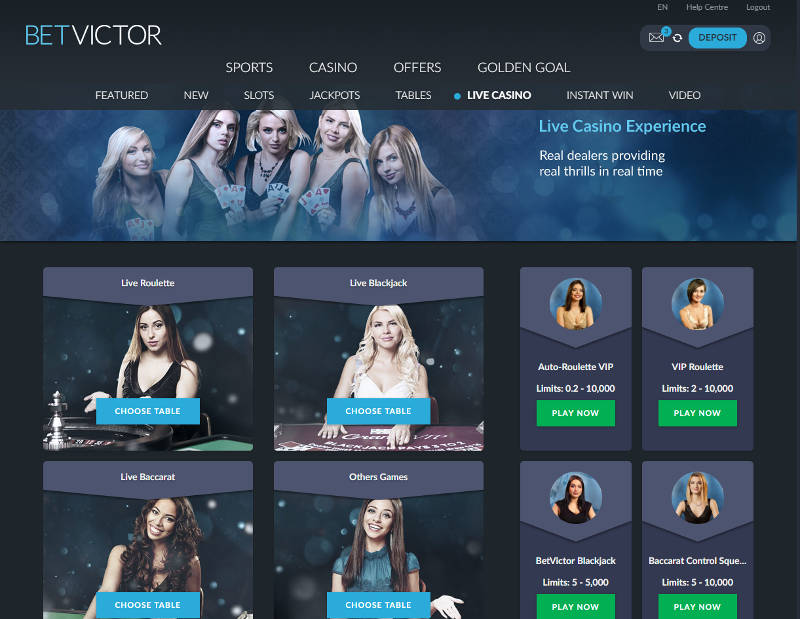 betvictor 3 card poker